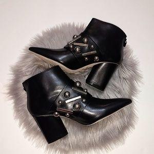 Donald J. Pliner GEENE Embellished Metallic Boot 6